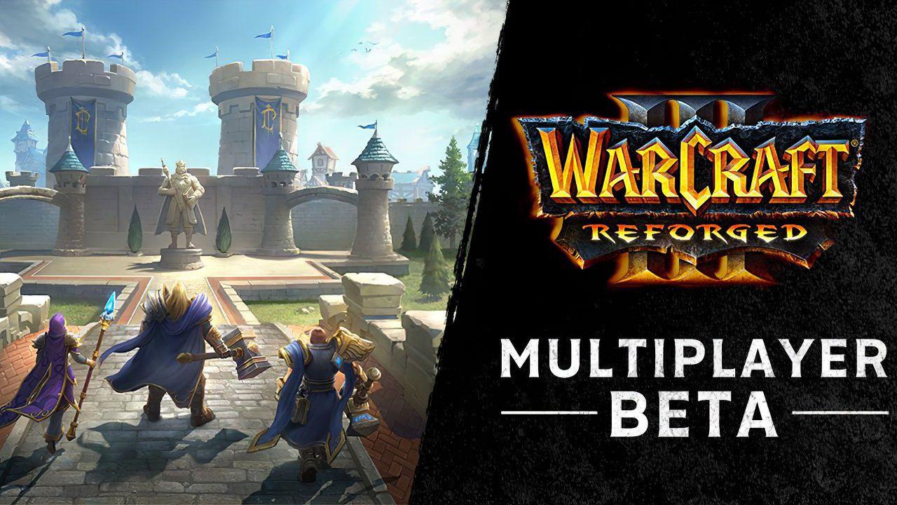 La Beta multiplayer di Warcraft 3 Reforged arriva questa settimana