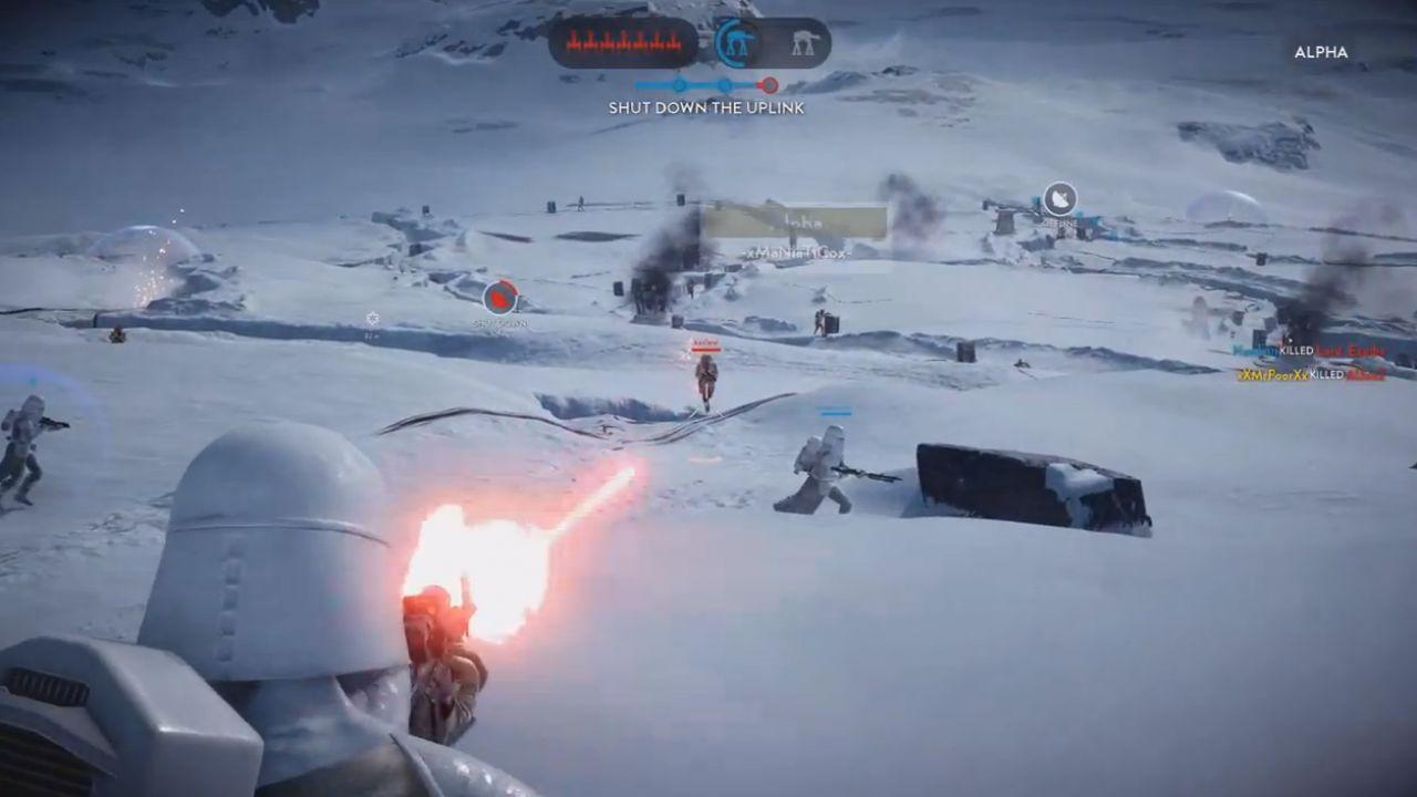 La beta di Star Wars Battlefront è disponibile al download anche su console