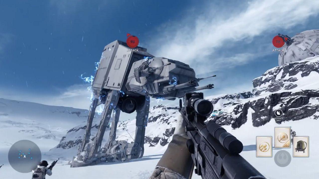 La beta di Star Wars Battlefront pesa 7 Giga su console, 11 su PC
