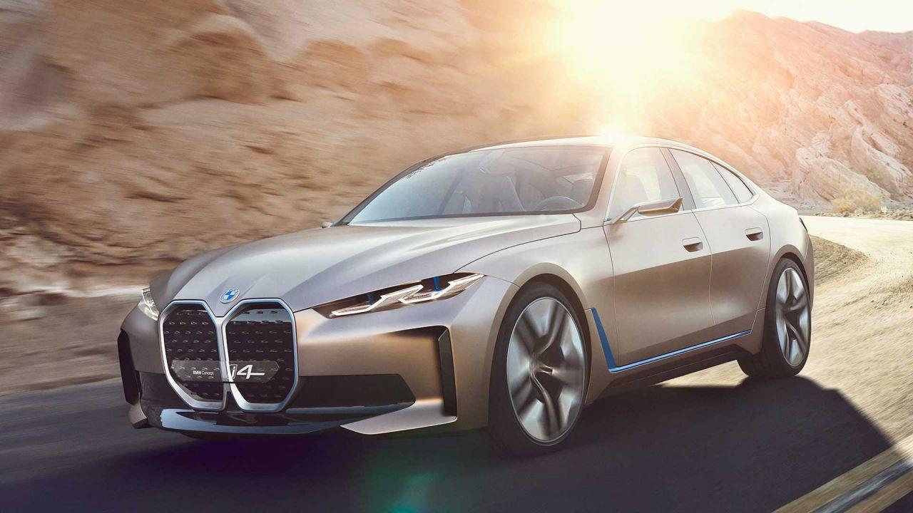 La BMW i4 elettrica diventa la Serie 4 più potente di sempre