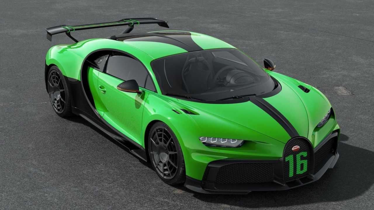 La Bugatti Chiron Pur Sport riceve nuove fantastiche colorazioni: ecco le immagini