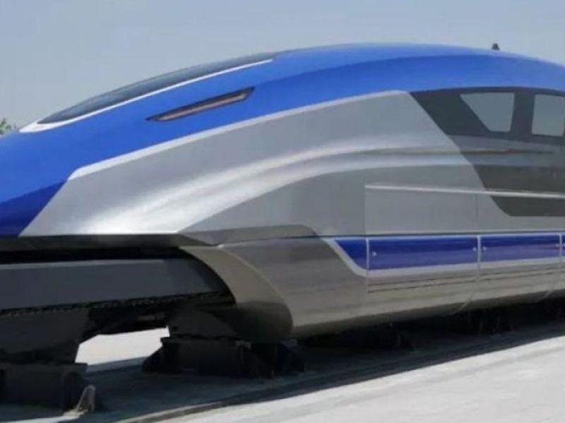 La Cina ha sviluppato un nuovo treno Maglev: va a 800 km/h