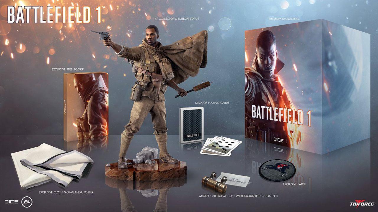 La Collector's Edition di Battlefield 1 non include il gioco
