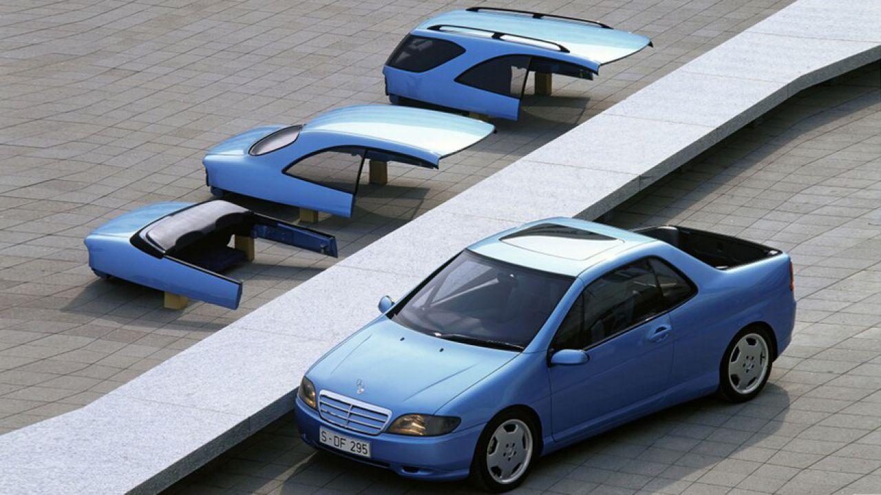 La concept di Mercedes che in 15 minuti si trasformava in pick up, cabrio o van