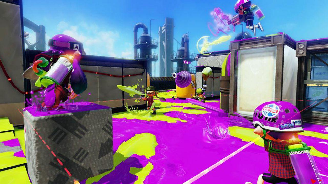 La demo giocabile di Splatoon è scaricabile dal Nintendo eShop