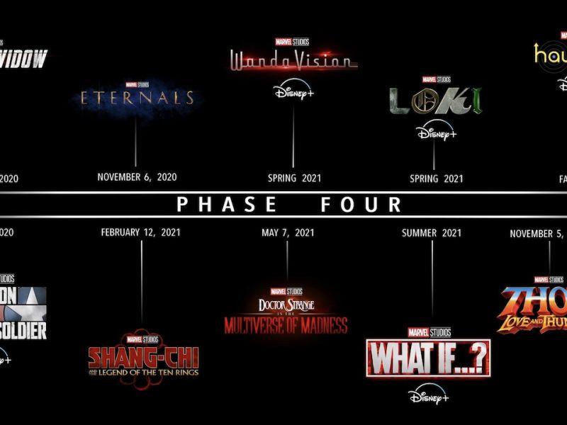 La fase 4 del Marvel Cinematic Universe è completa, il resto arriverà durante la fase 5