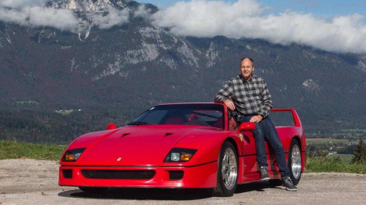 La Ferrari F40 di Gerhard Berger all'asta: vale più di 1 milione di euro