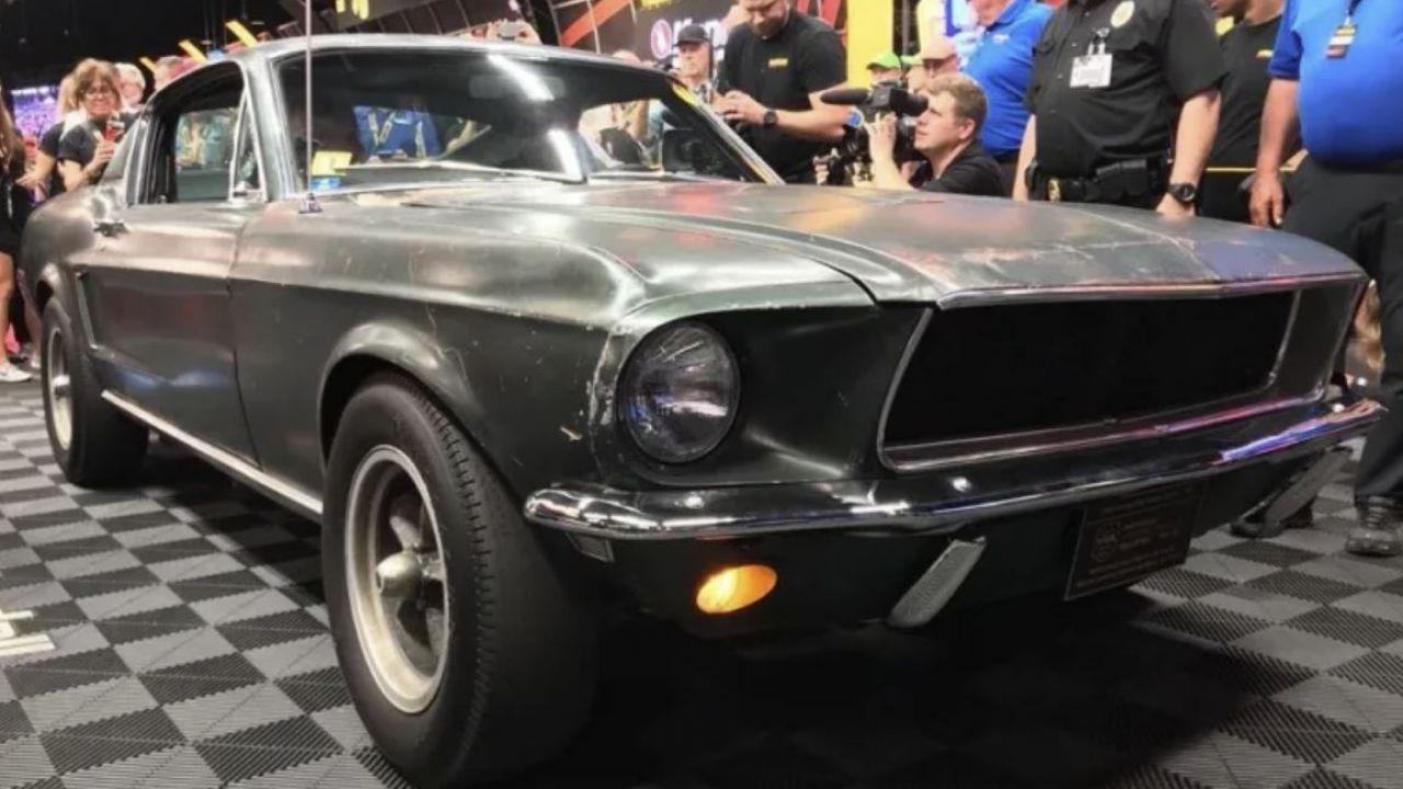 La Ford Mustang GT originale del film Bullitt venduta a quasi 4 milioni di dollari