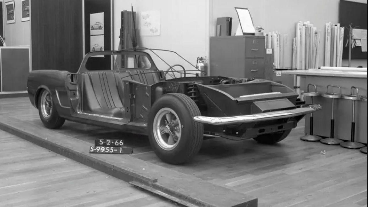 La stessa Ford non riconosce questo suo prototipo, ma di auto che si tratta?