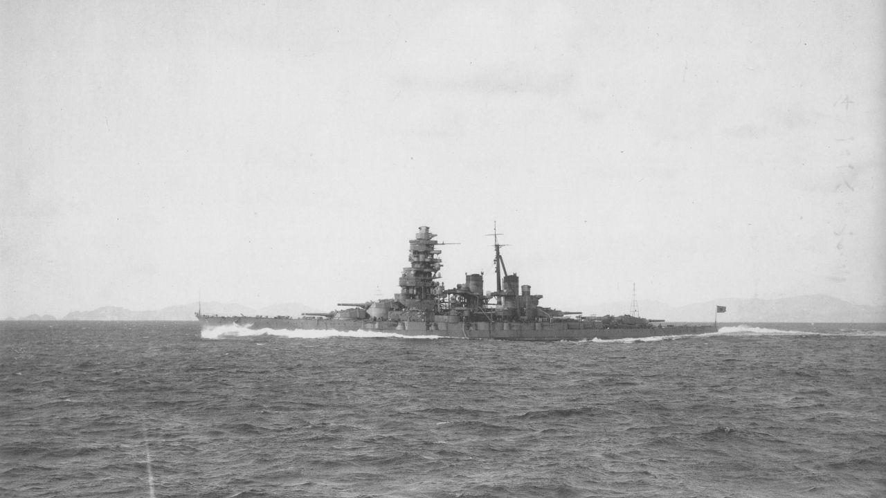 La foto del relitto della prima nave giapponese affondata durante la WWII