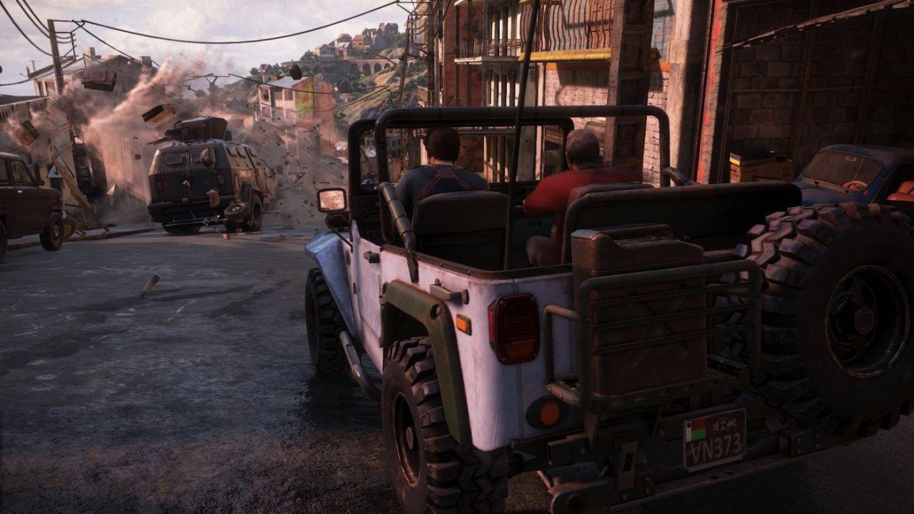 La jeep di Uncharted 4 può essere guidata liberamente