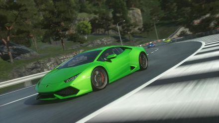 La Lamborghini Diablo Super Veloce sfreccia in DriveClub