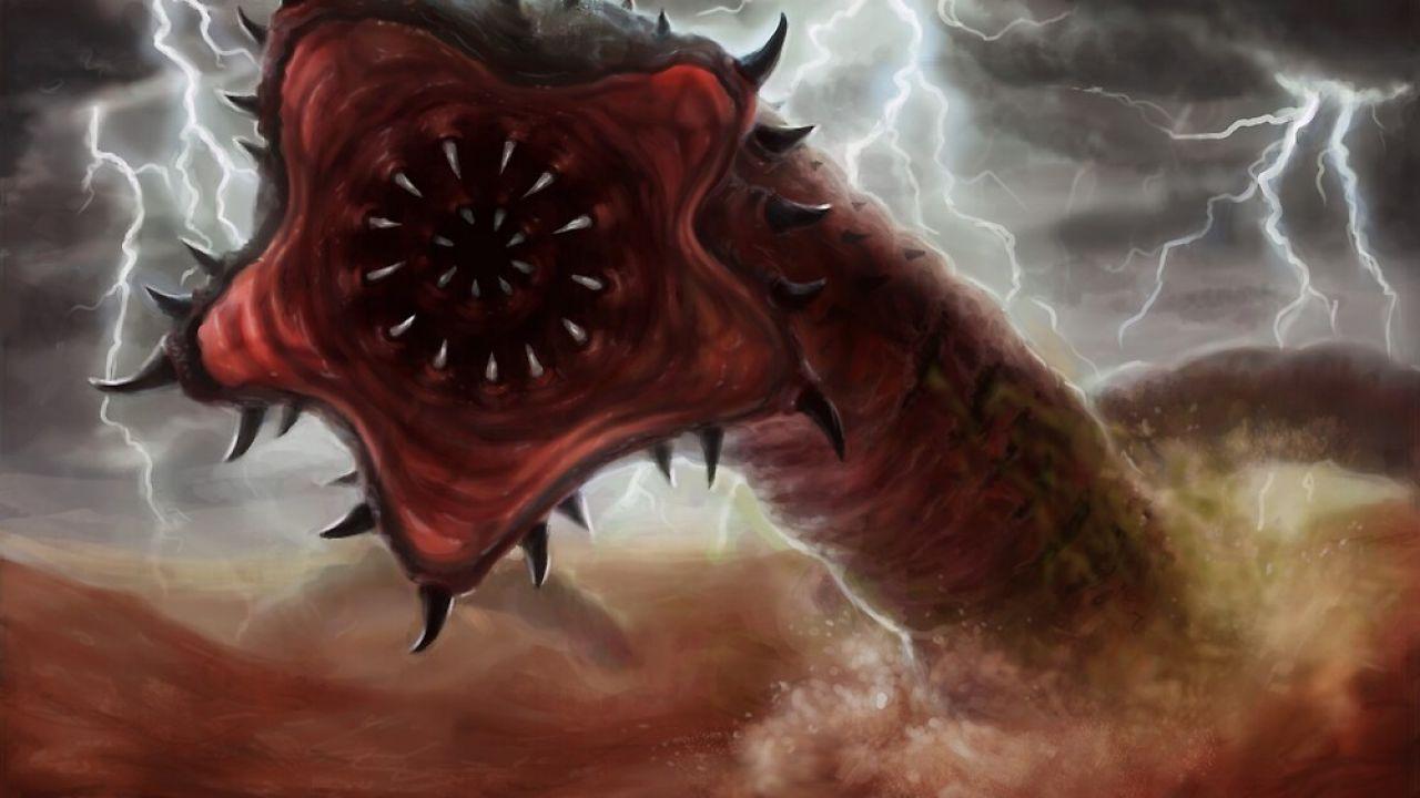 La leggenda del 'Verme della Morte', capace di sputare veleno ed emettere elettricità