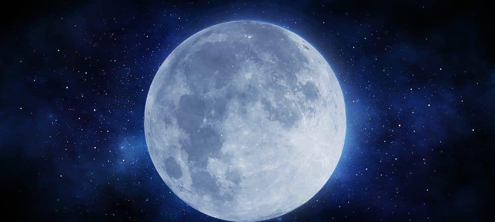 La nostra Luna ha una coda gigantesca, quasi come quella di una cometa