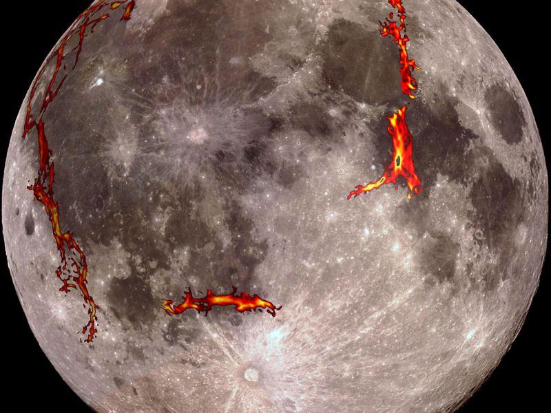 La Luna non è morta: creste sulla superficie mostrano segni di recente attività tettonica