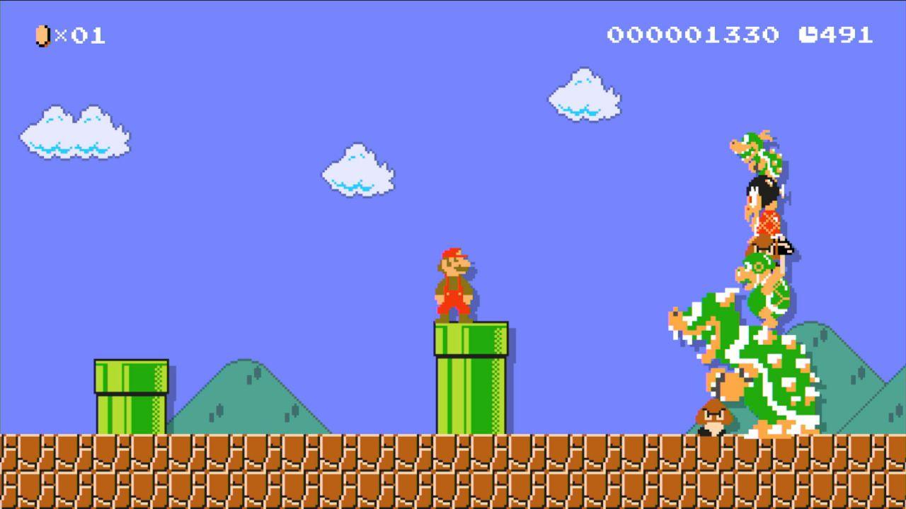 La mascotte di Famitsu arriva su Super Mario Maker