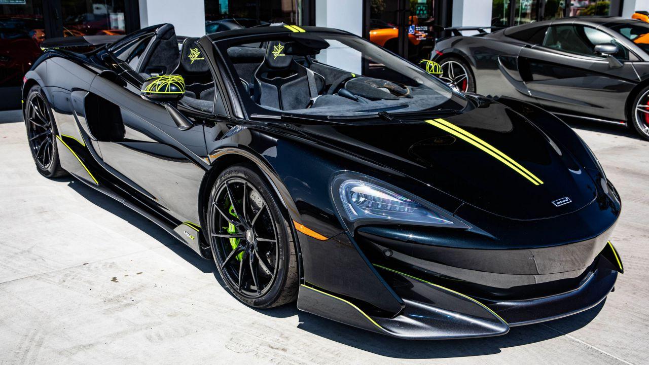 La McLaren 600LT Spider Segestria Borealis vi avvolgerà con le sue ragnatele