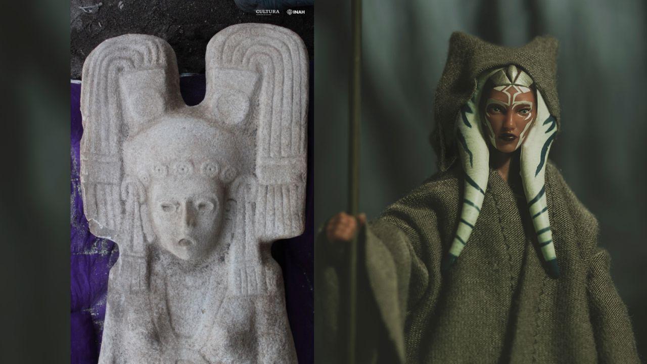 La misteriosa statua messicana con un copricapo molto simile ad uno in Star Wars