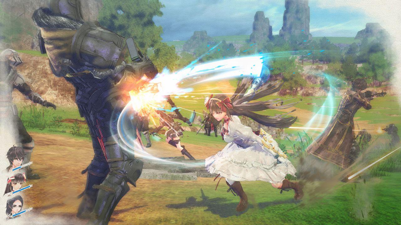 La morte dei personaggi sarà permanente in Valkyria: Azure Revolution