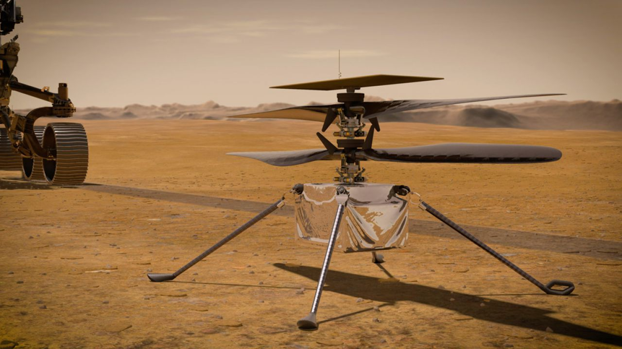 La NASA ha acceso per la prima volta l'elicottero diretto verso Marte, ma non sul pianeta