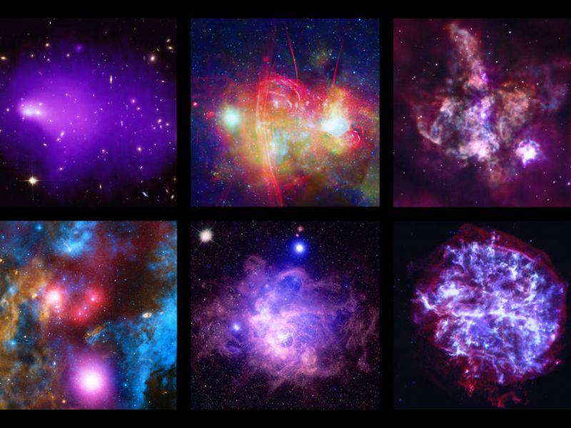 La NASA rilascia nuove spettacolari immagini per i vent'anni del telescopio Chandra