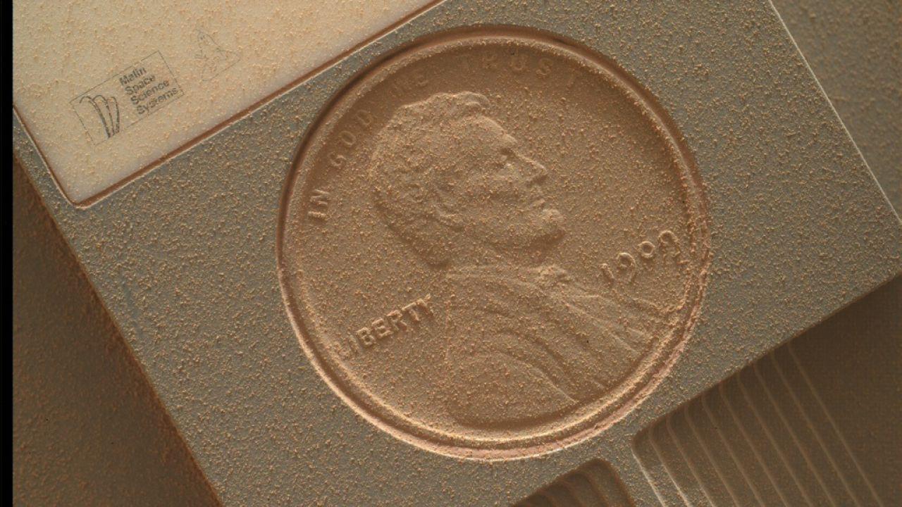 La NASA sta usando un centesimo del 1909 per capire le stagioni su Marte