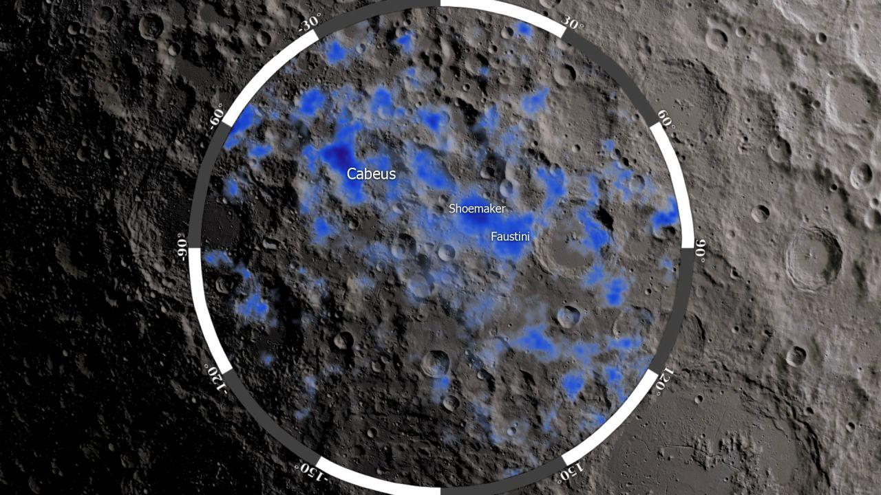 La NASA vuole cercare l'acqua sulla Luna utilizzando un rover nel 2022