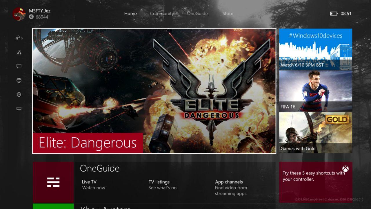 La New Xbox One Experience si aggiorna