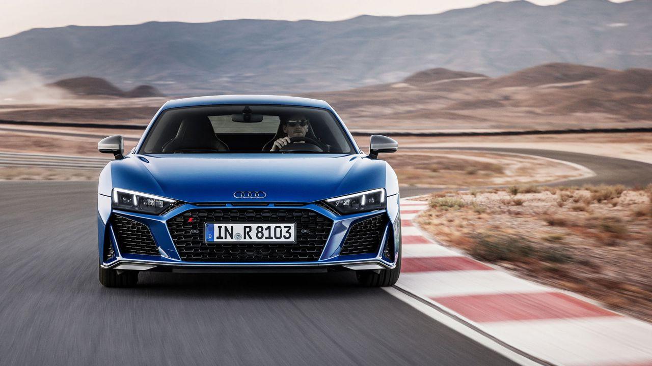 La nuova Audi R8 con motore V10 si prepara al debutto: in Italia dal 2019