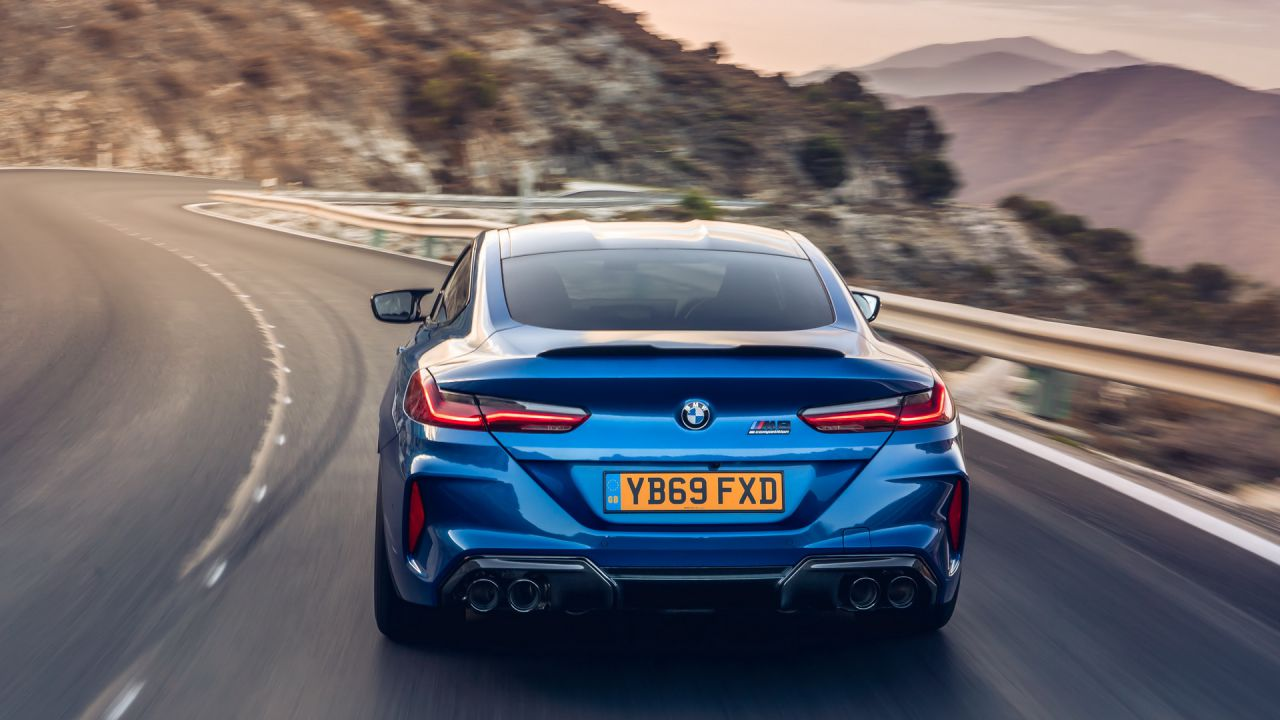 La nuova BMW M8 Competition gode di uno 0 a 100 km/h fulminante