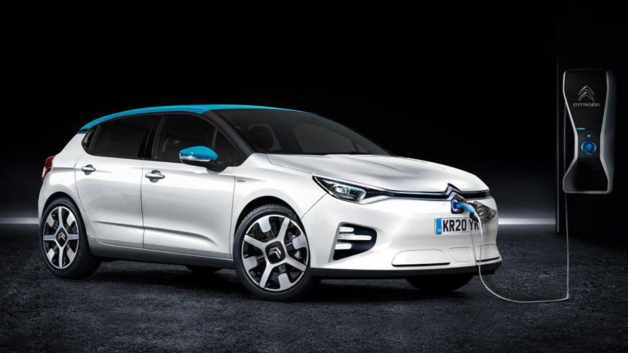 La nuova Citroen C4 sarà anche 100% elettrica, con 350 km di autonomia