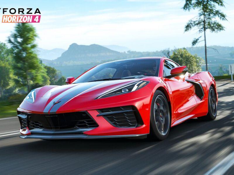 La nuova Corvette C8 Stingray arriva in Forza Horizon 4