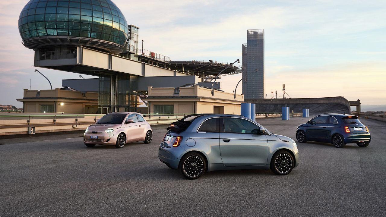 La nuova Fiat 500 elettrica diventa per tutti: arrivano 3+1, Action, Passion e Icon