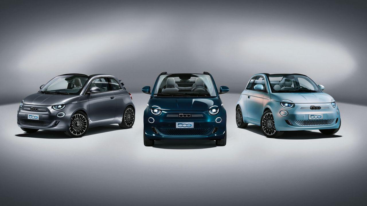 La nuova Fiat 500e elettrica si ordina online come le auto Tesla