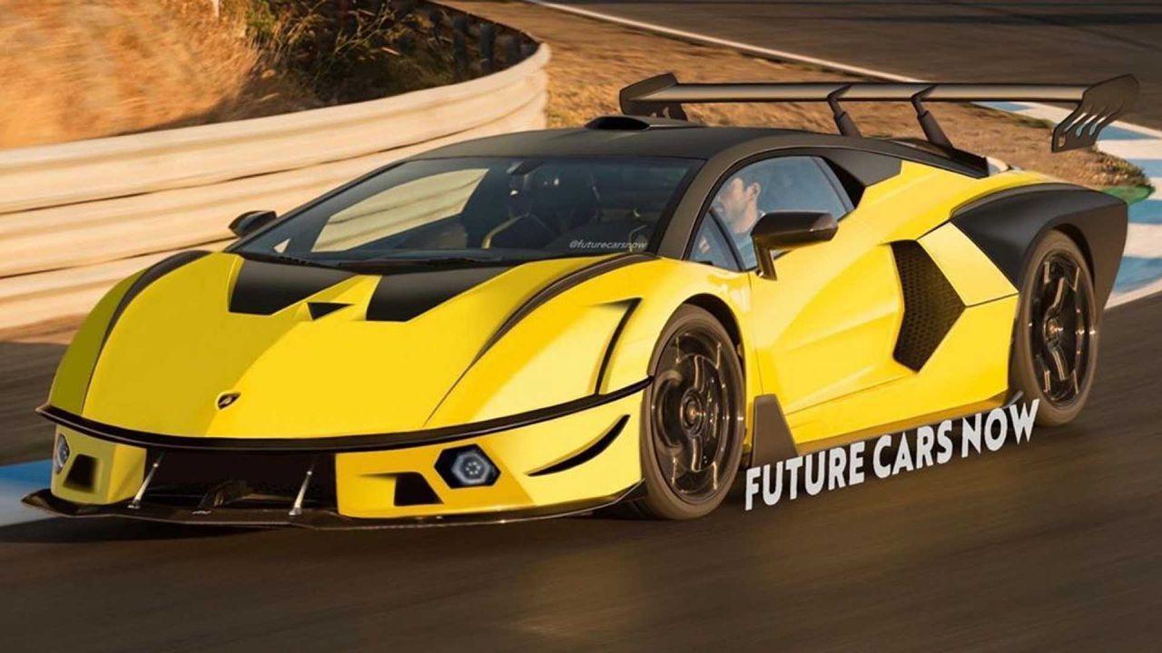 La nuova Lamborghini SCV12 si mostra in coloratissime immagini