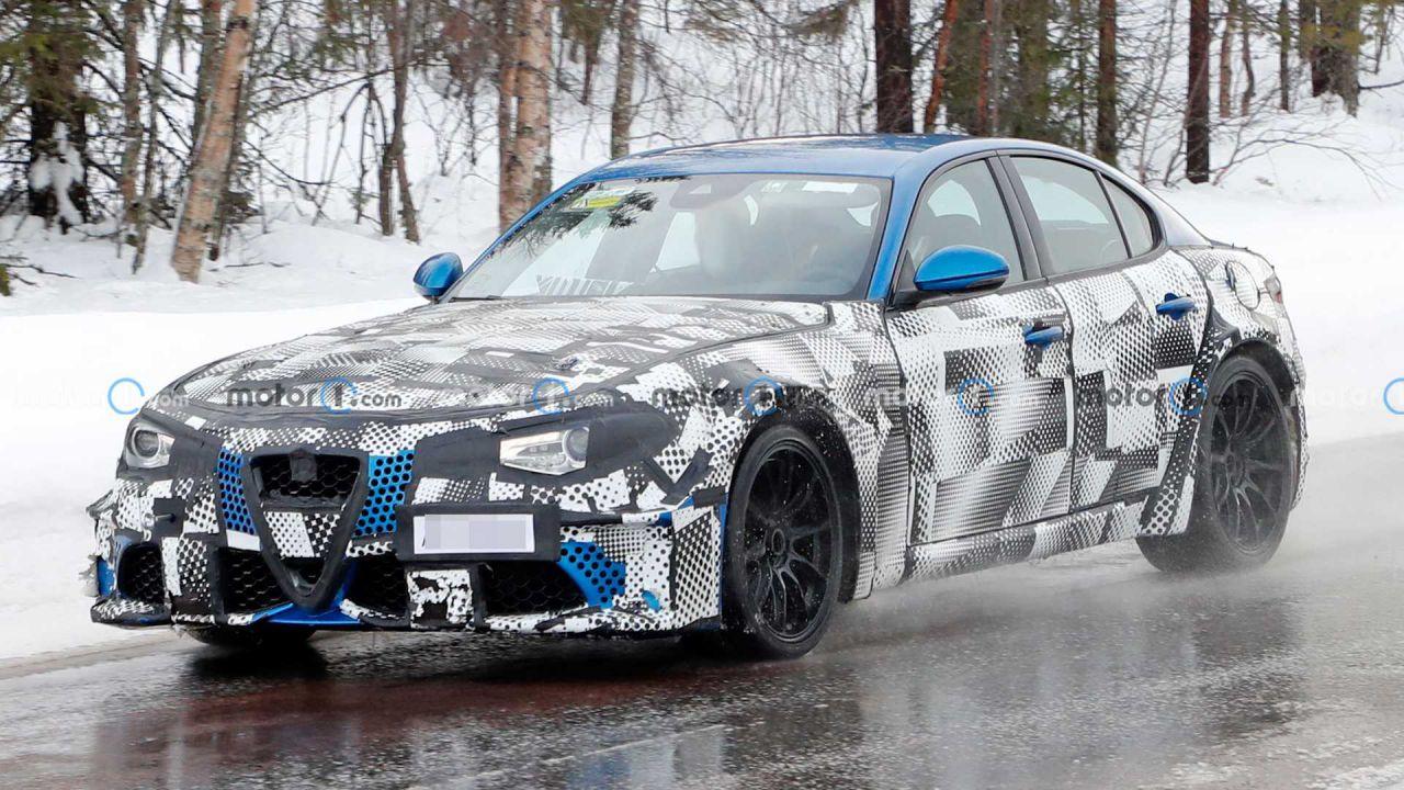 La nuova Maserati GranTurismo è stata avvistata in mezzo alla neve