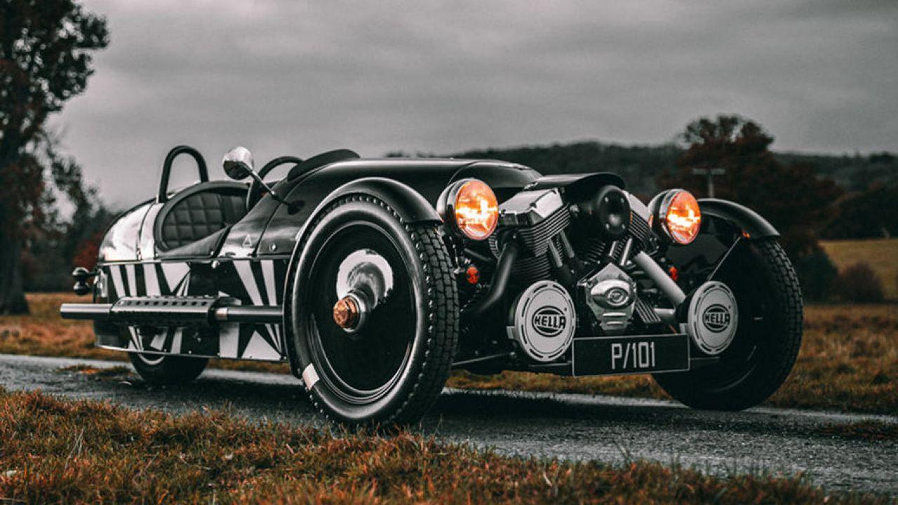 La nuova Morgan 3 Wheeler P101 Edition è il sogno degli appassionati