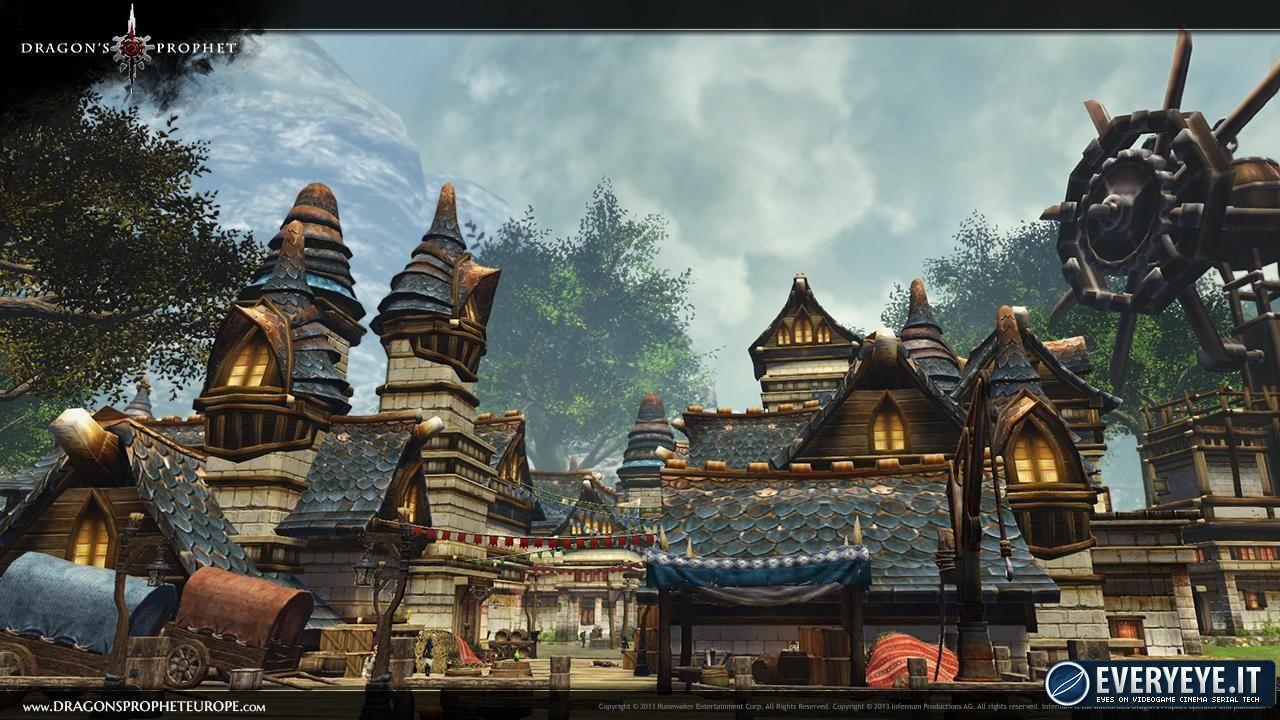 La nuova regione di Dragon's Prophet in immagini