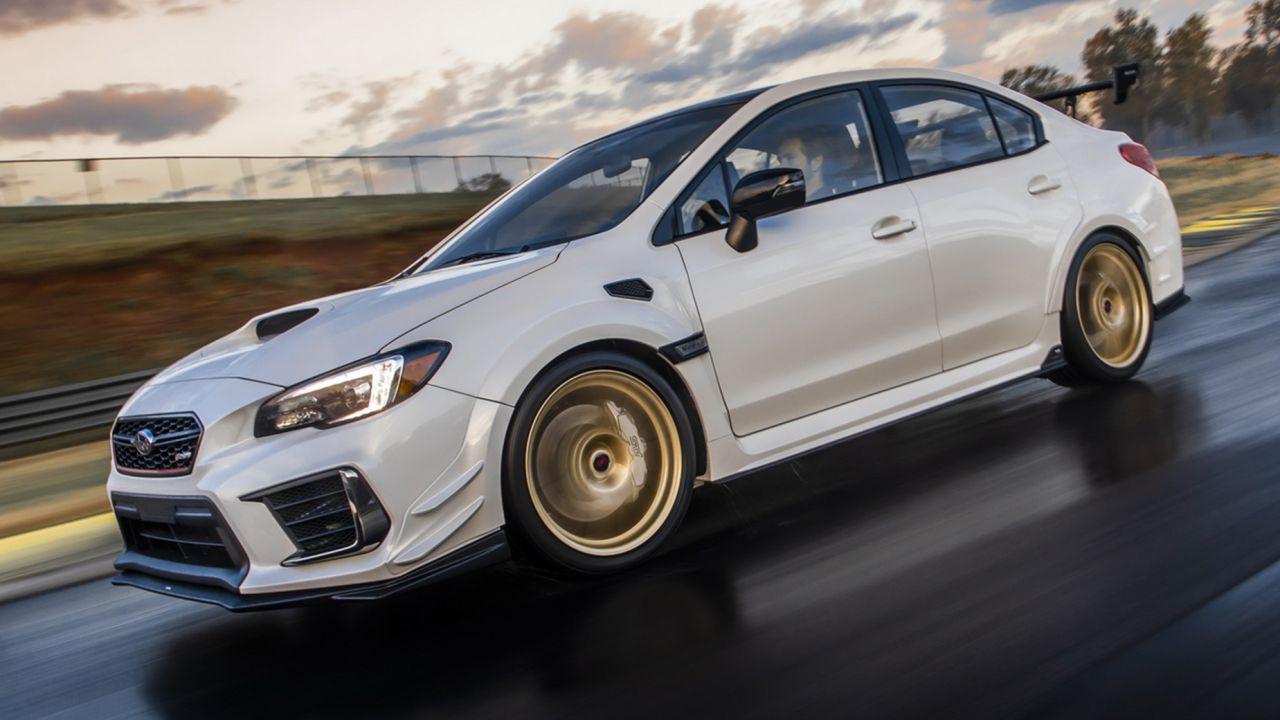 La nuova Subaru WRX STI si prepara al debutto con un motore boxer da 400 cavalli