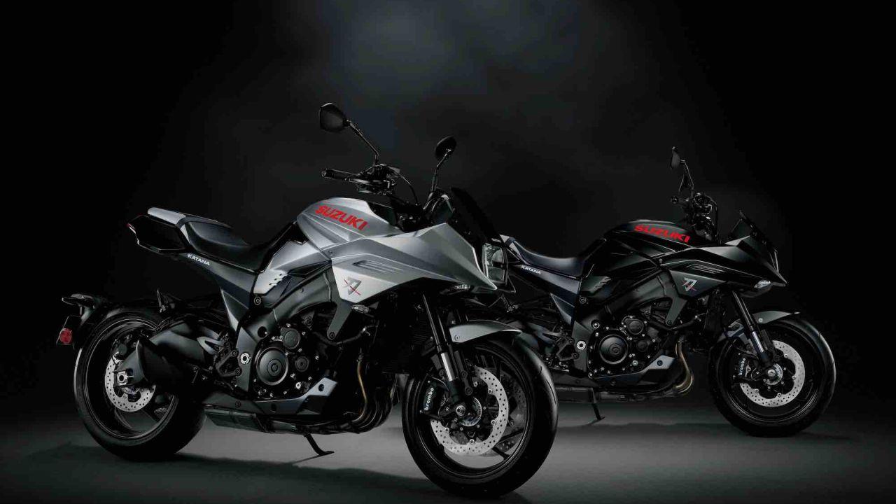La nuova Suzuki Katana in anteprima mondiale a EICMA 2018