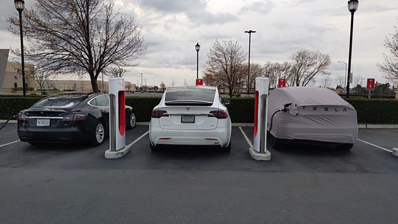 La nuova Tesla Model Y accanto a una Model X: le dimensioni sono simili?