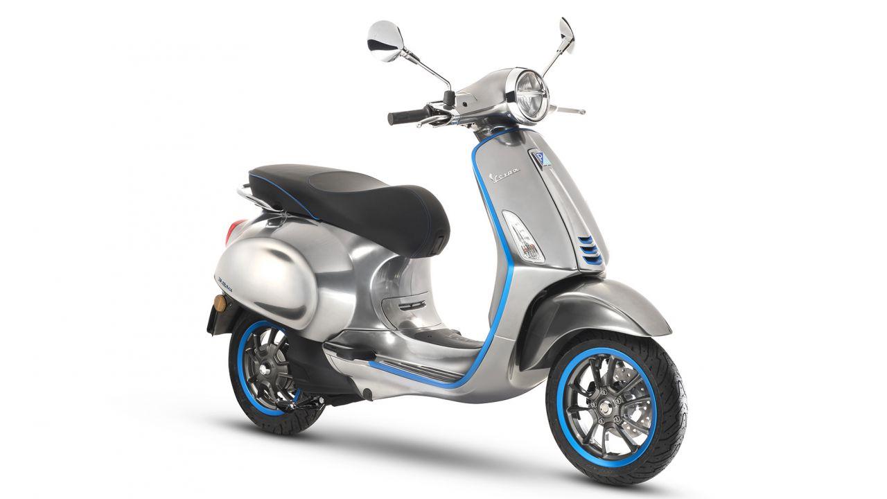 La nuova Vespa Elettrica di Piaggio: 100 km di autonomia e motore da 4 kW