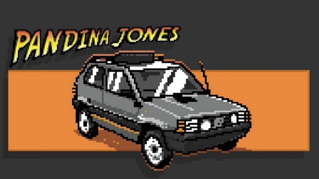 La Pandina Jones è una Panda4X4 d'epoca trasformata in un EV