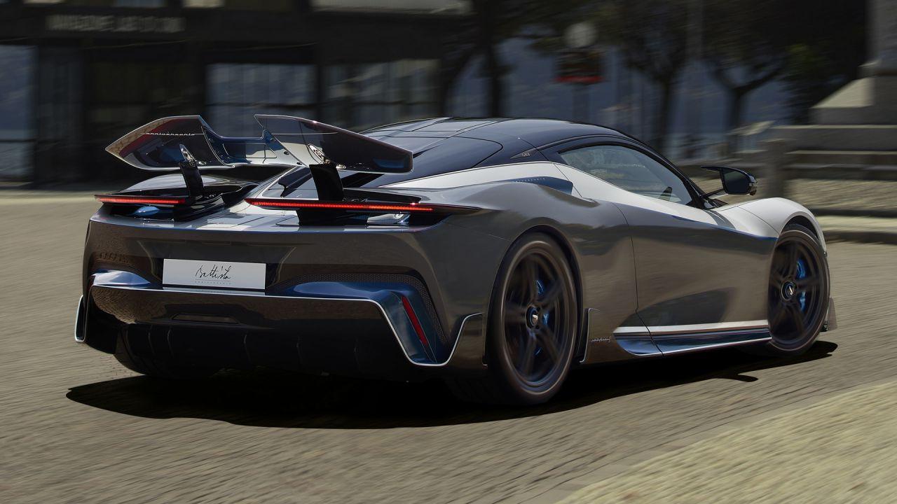 La Pininfarina Battista da 2.000 CV sarà la hypercar elettrica più connessa al mondo