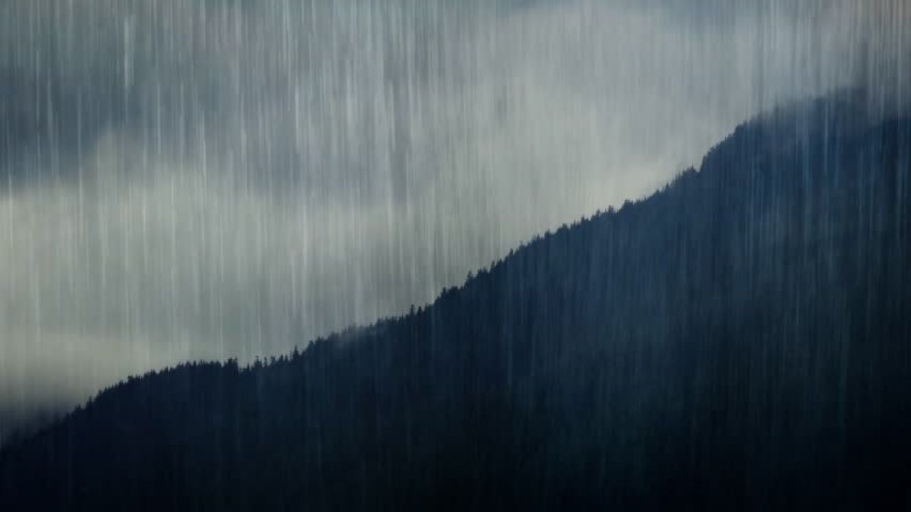 La pioggia può spostare le montagne? Sì, e ci sono le prove