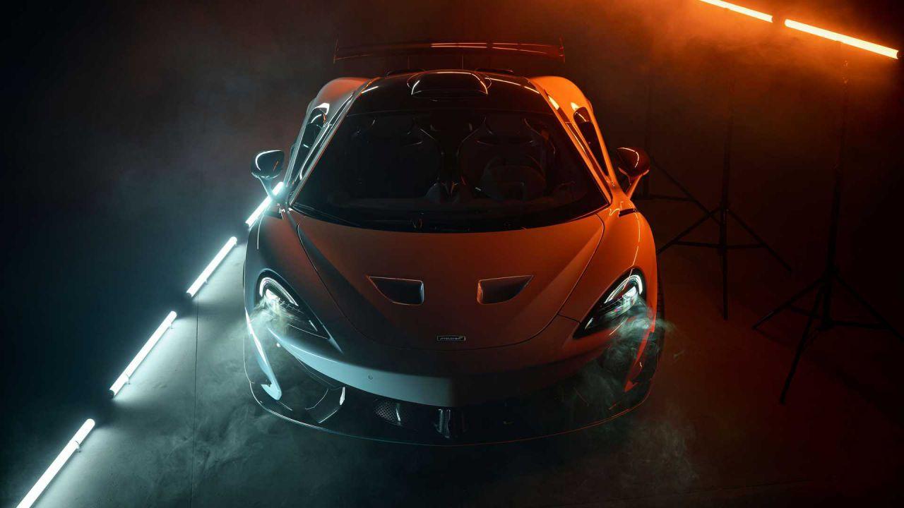La possente McLaren 620R raggiunge i 710 CV grazie alla cura Novitec