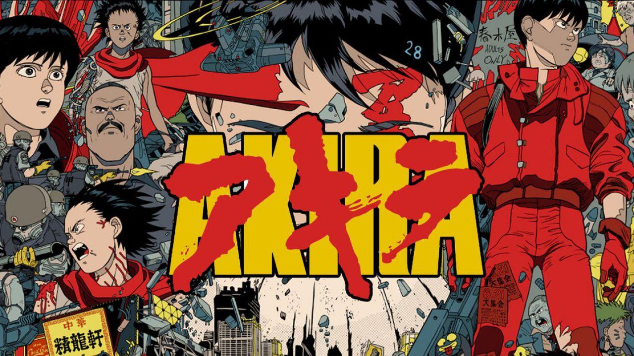 La proiezione di Akira in 4K viene celebrata con un suggestivo poster promozionale