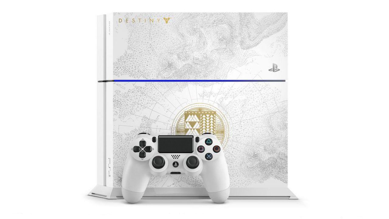 La PS4 in edizione limitata dedicata a Destiny Il Re dei Corrotti sarà il nuovo modello CUH-1200