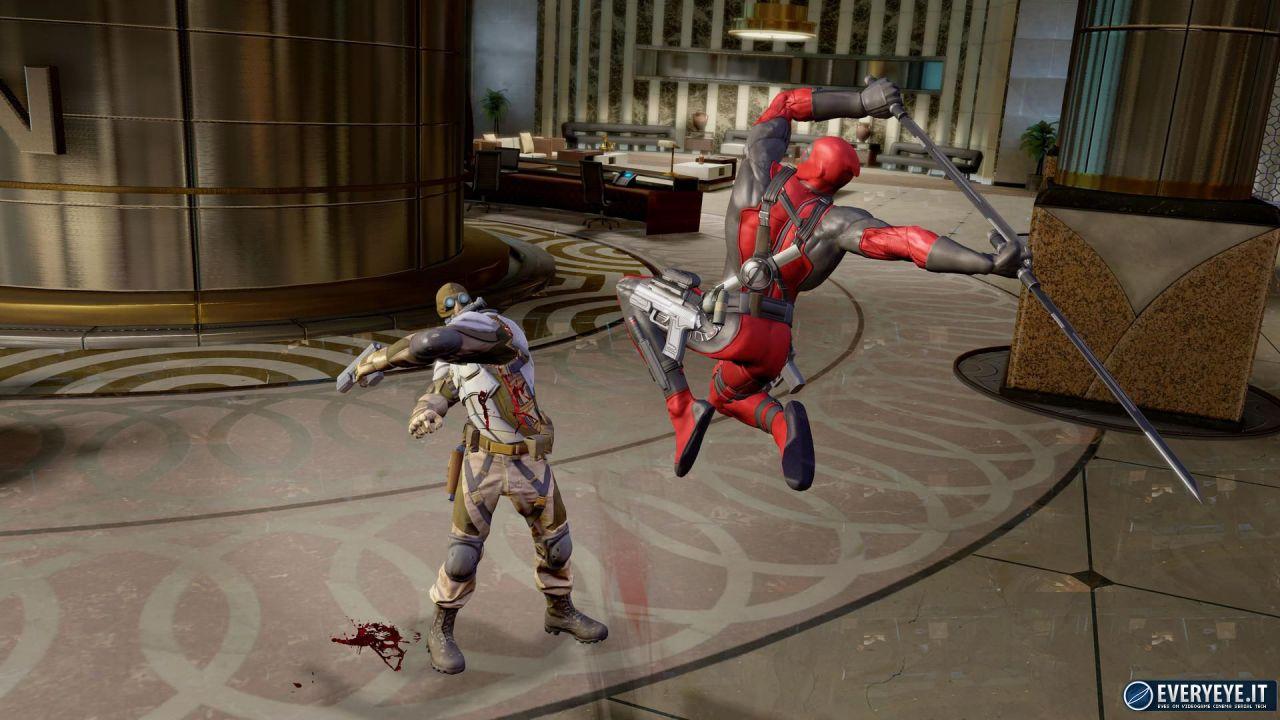 La sceneggiatura del videogioco di Deadpool è realizzata da Daniel Way
