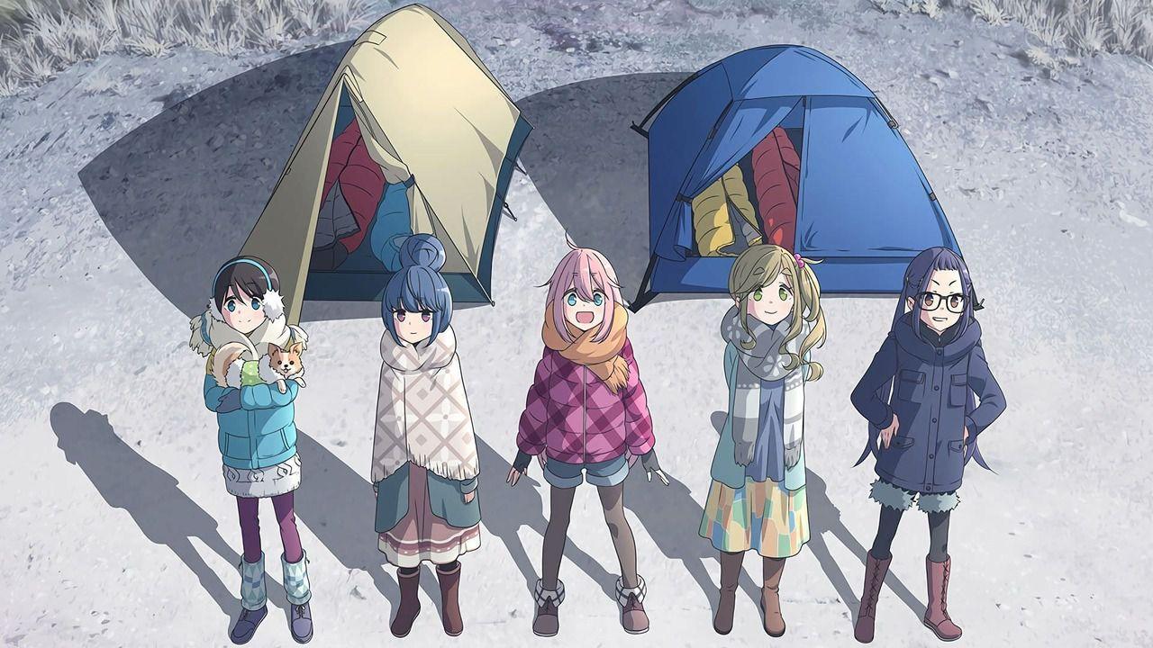 La seconda stagione di Yuru Camp ha finalmente una data di uscita